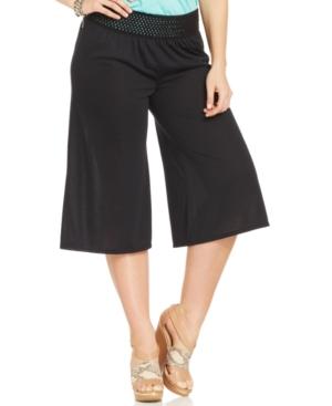 Jessica Simpson Plus Size Myra Gaucho Pants