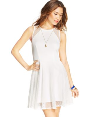 White Dresses for Juniors | Macy's - Macy's