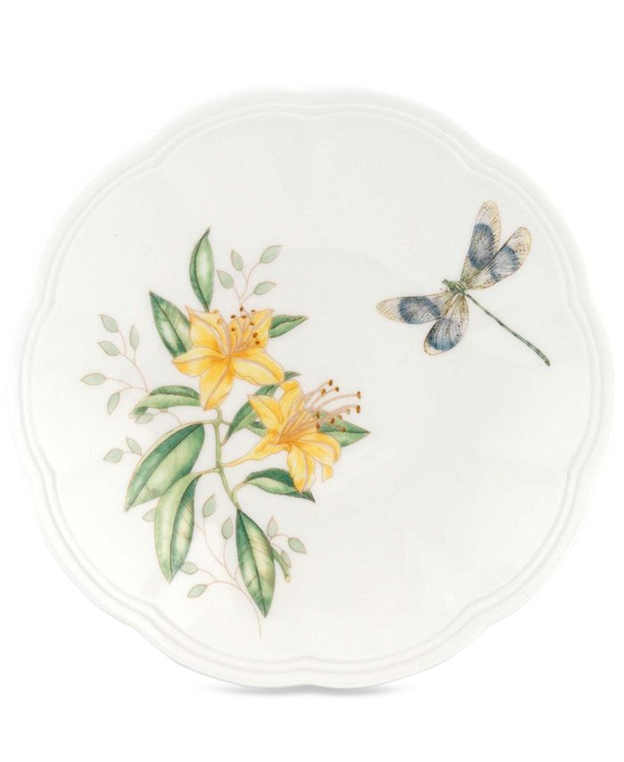 "Lenox - Butterfly Meadow Party Plate, 6"""