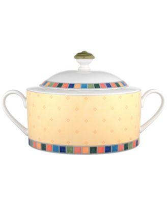 Villeroy & Boch Dinnerware, Twist Alea Covered Vegetable Bowl