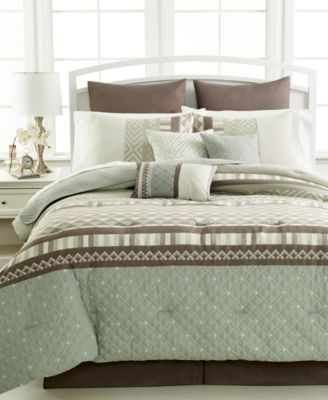 Eames 10-Pc. Queen Comforter Set