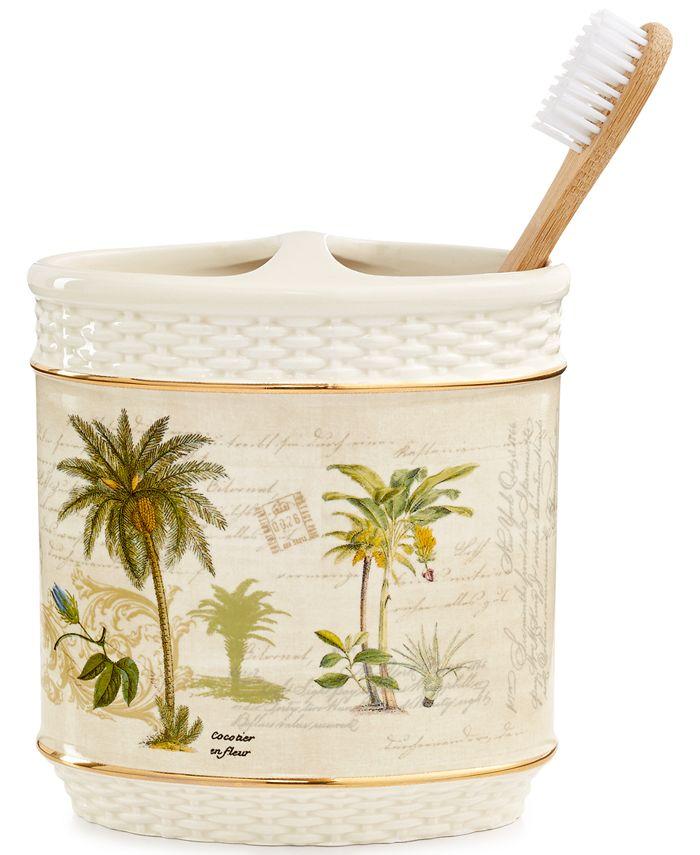 Avanti - Colony Palm Toothbrush Holder