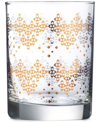 Luminarc Tangiers Double Old Fashioned Glasses, Set of 4