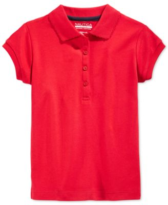 Image of Nautica Girls' Uniform Polo