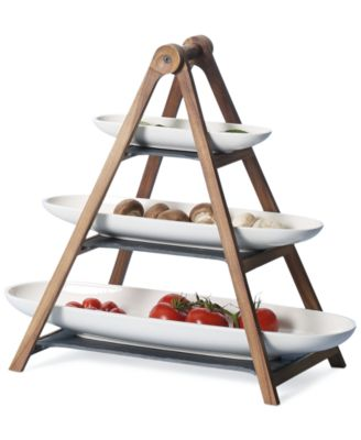 Villeroy & Boch Artesano 3-Tier Centerpiece 4-pc. Set