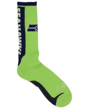 For Bare Feet Seattle Seahawks Jump Key Ii Socks