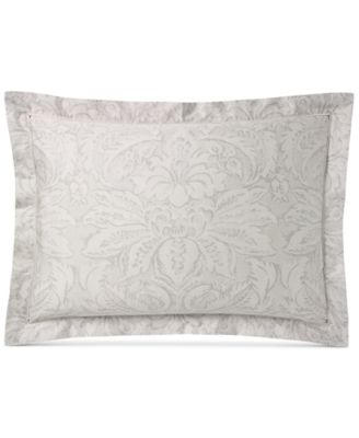 Ralph Lauren Fleur Du Roi Vintage Silver Standard Sham