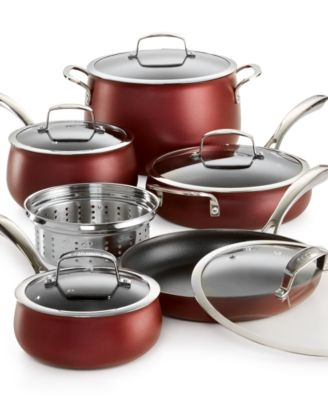 Belgique 11-Pc. Aluminum Cookware Set, Only at Macy's