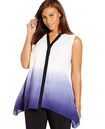 New for Handkerchief shirt plus size