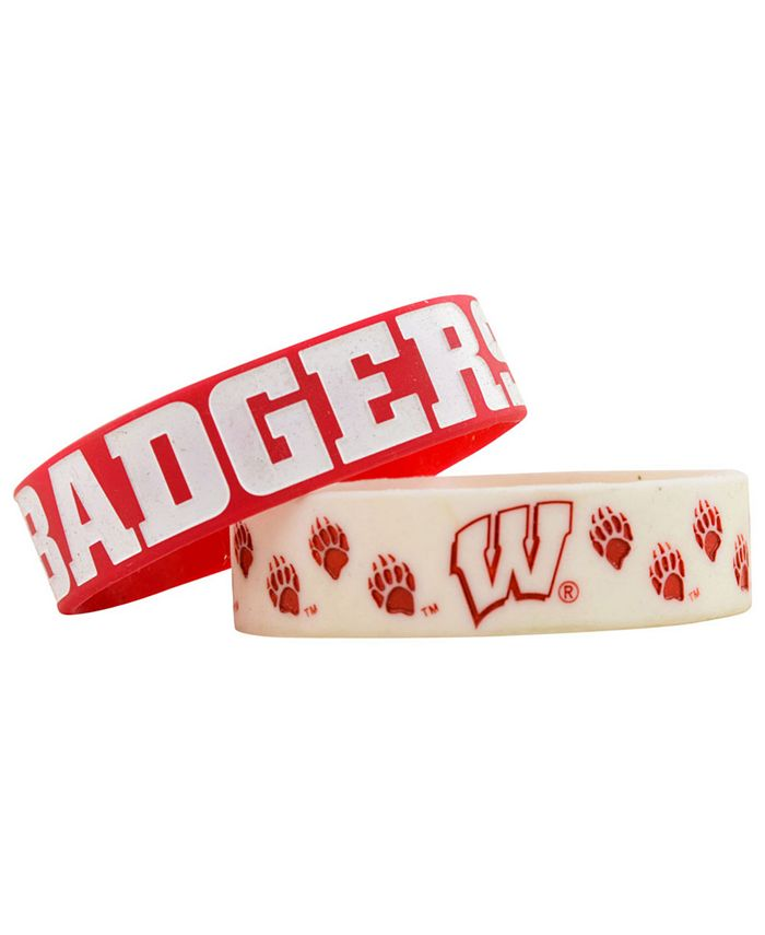 Forever Collectibles - Wisconsin Badgers 2-Pack Phat Bandz