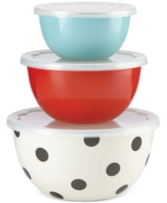 kate spade new york all in good taste 6-Pc. Serving Bowl Set