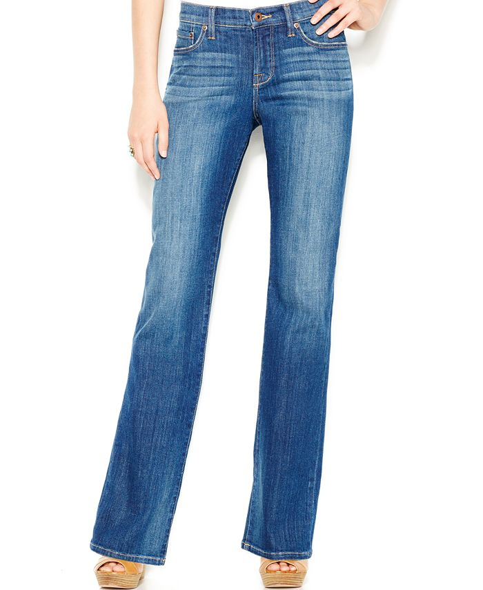 Lucky Brand - Easy Rider Bootcut Jeans, Tanzanite Wash