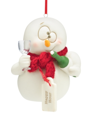Department 56 Snowpinions Ornament Collection Happy Hour Ornament