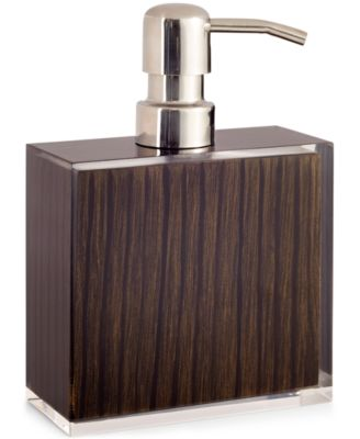 Hotel Collection, Wood Veneer Lotion Pump, Only at Macy's