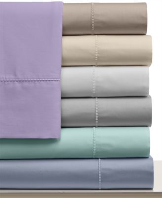 Martha Stewart Collection 300 Thread Count Cotton King Fitted Sheet