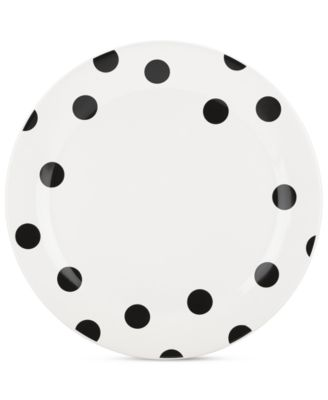 kate spade new york all in good taste Deco Dot Dinner Plate