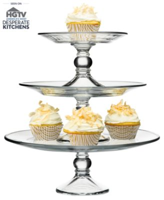 The Cellar Serveware, Stackable 3 Tier Cake Stand