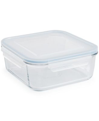 Martha Stewart Collection 11-Cup Glass Food Storage Container, Only at Macy's