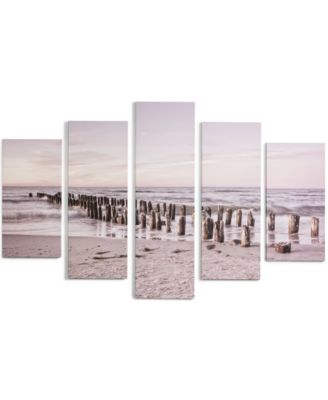Graham & Brown Canvas Life's A Beach Tranquil Seascape Wall Art