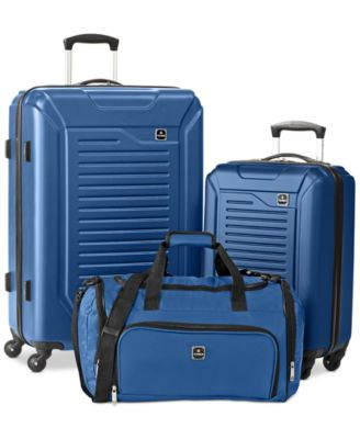 Tag Vector 3 Piece Hardside Luggage Set, Only at Macy's
