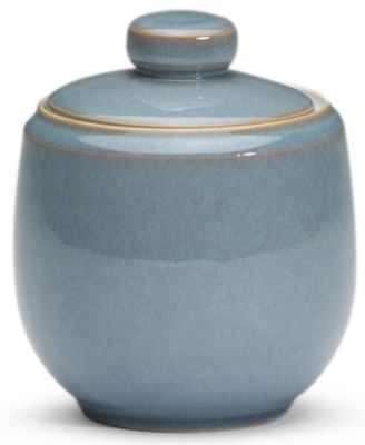 Denby Dinnerware, Azure Covered Sugar Bowl