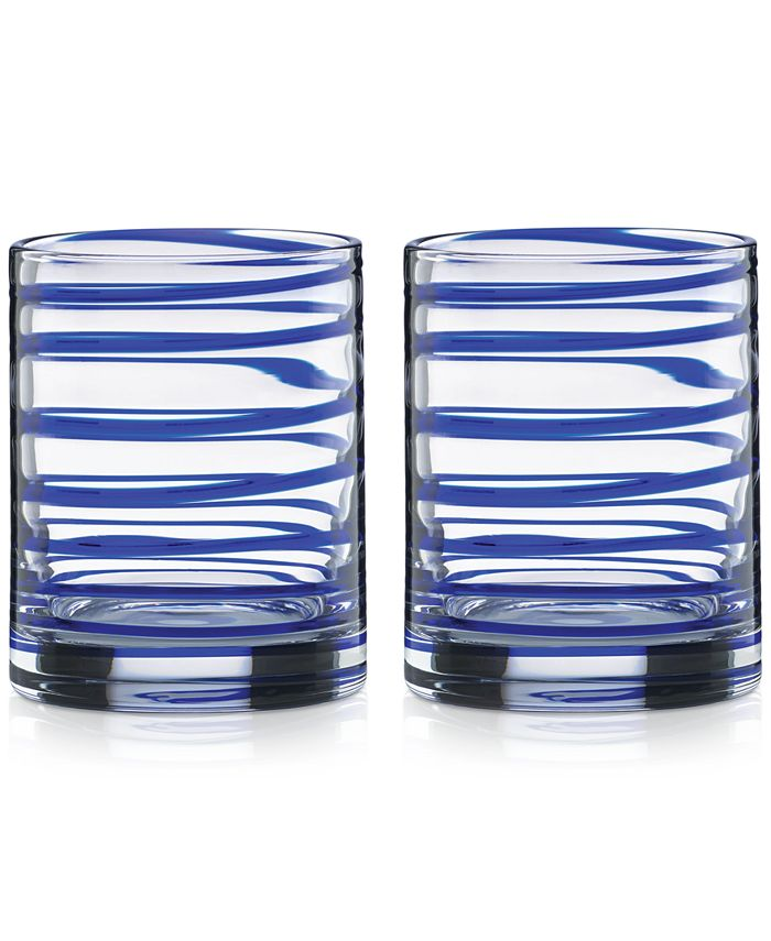 kate spade new york - Charlotte Street Double Old-Fashioned Glasses, Set of 2