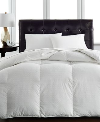 Hotel Collection Heavy Weight Siberian White Down King Comforter, Hypoallergenic UltraClean Down, Only at Macy's