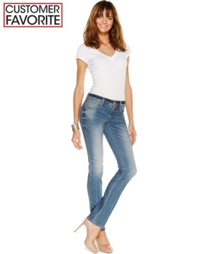 Inc International Concepts Curvy-Fit Jeans, Monday Wash, Only at Macy's