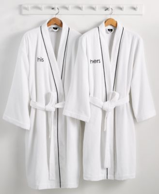 Hotel Collection His or Hers Robe, 100% Turkish Cotton, Only at Macy's