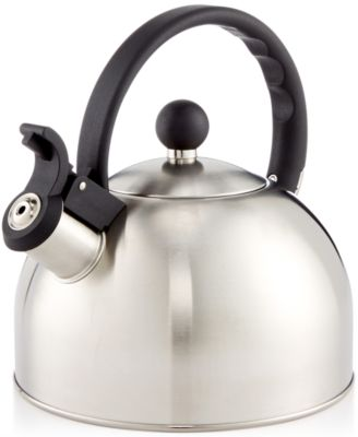 Tools of the Trade 1.5-Qt. Brushed Stainless Steel Tea Kettle, Only at Macy's