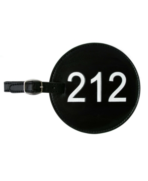 Area Code Luggage Tag 212