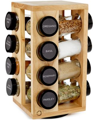 Martha Stewart Collection 17-Pc. Revolving Spice Rack, Only at Macy's