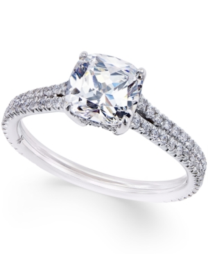 Certified Diamond Engagement Ring (1-9/10 ct. t.w.) in 18k White Gold