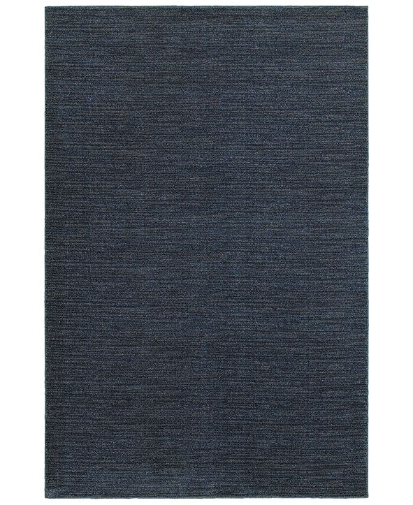 "JHB Design Tidewater Casual Navy/Grey 3'10"" x 5'5"" Area Rug"
