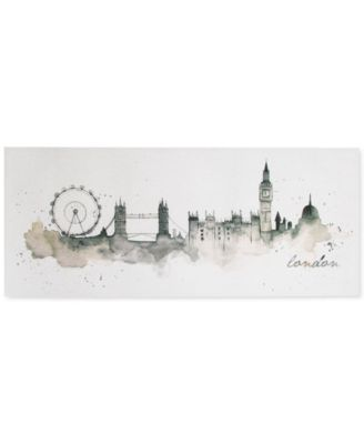 Graham & Brown London Watercolor Wall Art