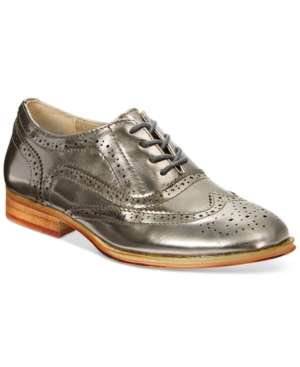 Wanted Babe Lace-Up Oxfords Women's Shoes