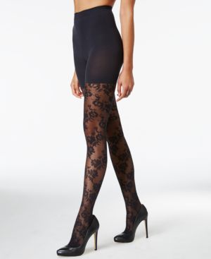 Star Power by Spanx Flower Trip Tights