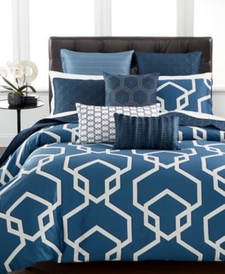 Hotel Collection Modern Imperial Full/Queen Comforter, Only at Macy's