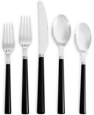 kate spade new york All in Good Taste 20-Pc. Stainless Steel Flatware Set