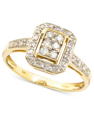 14k Gold Diamond Ring (1/4 ct. t.w.)