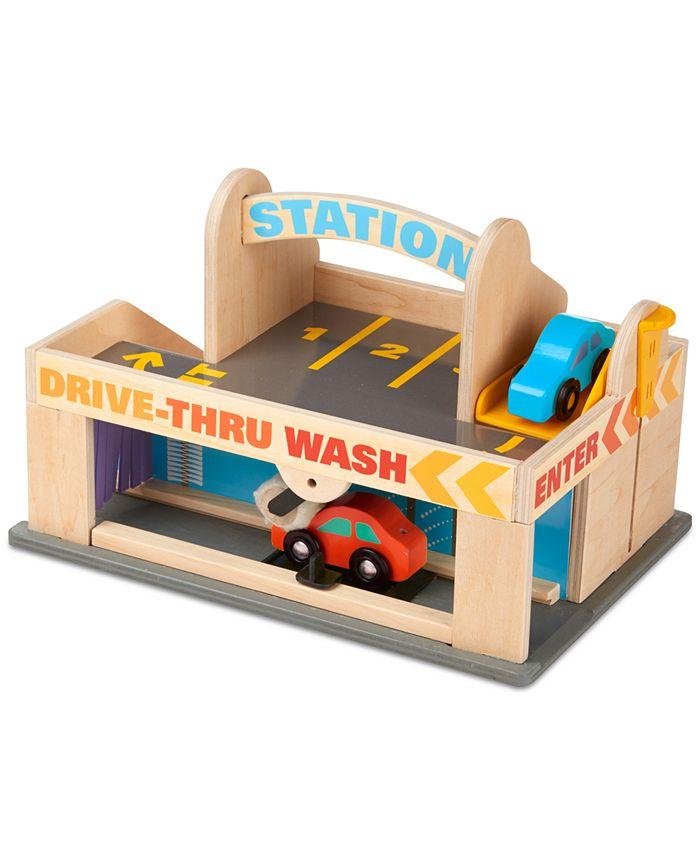 Melissa and Doug - Kids' Service Station Parking Garage