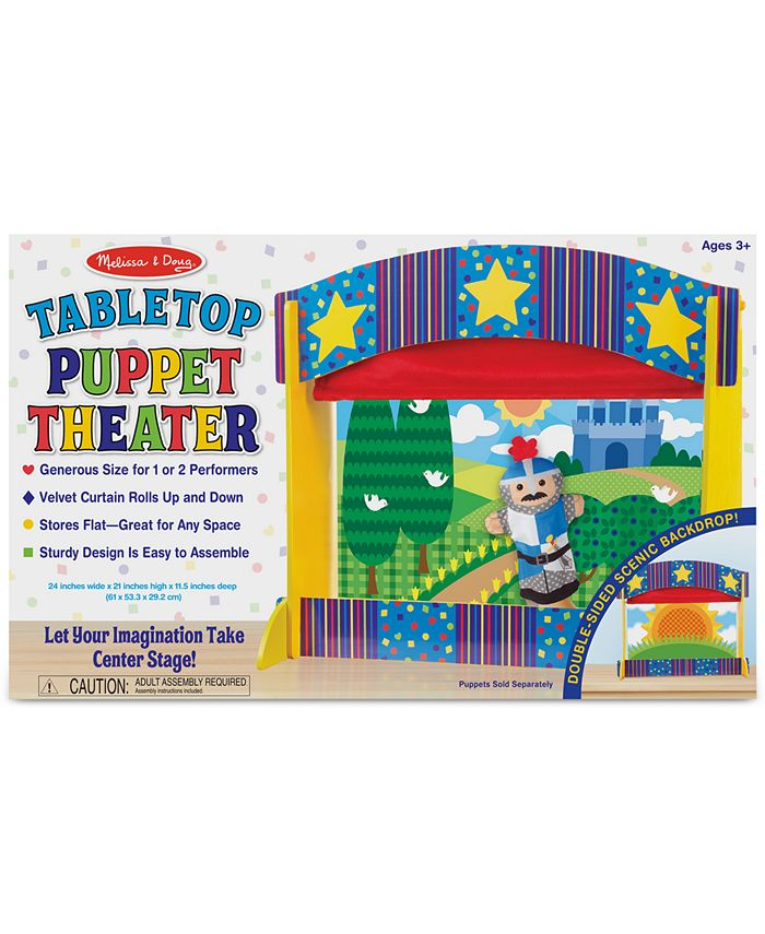 Melissa and Doug - Kids' Tabletop Puppet Theater