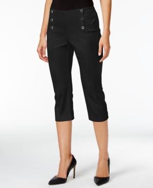 Alfani Petite Capri-Length Sailor Pants Only at Macys $29.99 AT vintagedancer.com