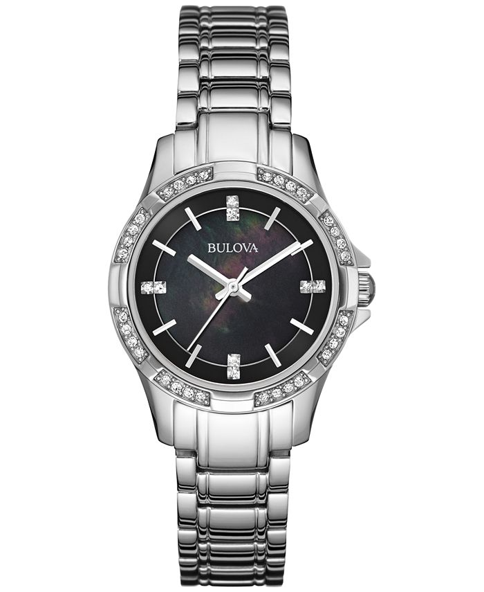 Bulova - Women's Stainless Steel Bracelet Watch 30mm 96L214