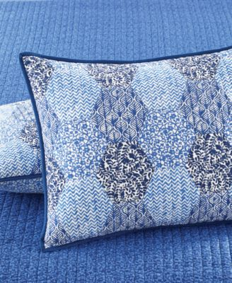 Martha Stewart Collection Indigo Dream Standard Sham, Only at Macy's