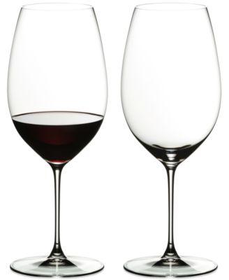 Veritas Cabernet/Merlot Wine Glass Set of 2