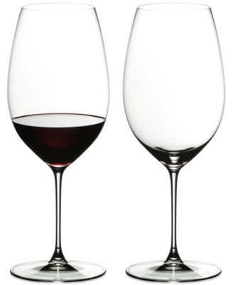 Riedel Veritas Cabernet/Merlot Wine Glass Set of 2