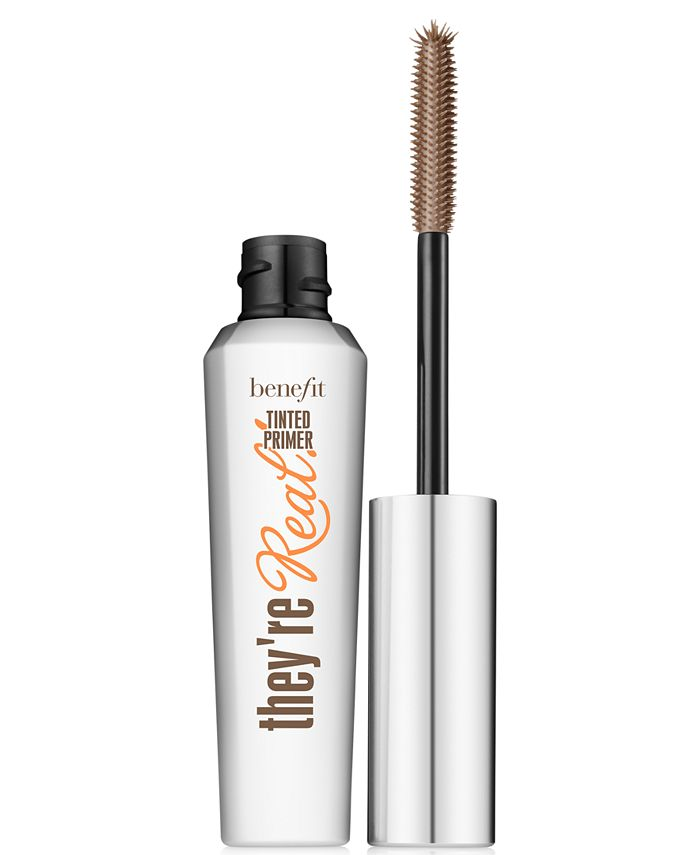 Benefit Cosmetics - they're real! tinted primer mascara