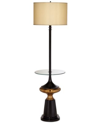 CLOSEOUT! Pacific Coast Empire Floor Lamp with Tray Table, Only at Macy's