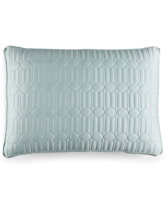 Hotel Collection Modern Interlace Quilted Standard Sham, Only at Macy's